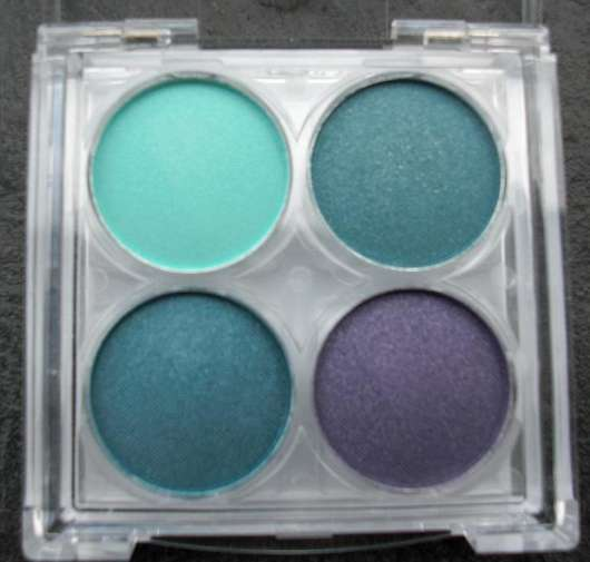 essence Quattro Eyeshadow, Farbe: 05 Aqua Flash
