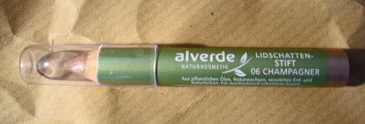 alverde Lidschattenstift, Farbe: 06 champagner