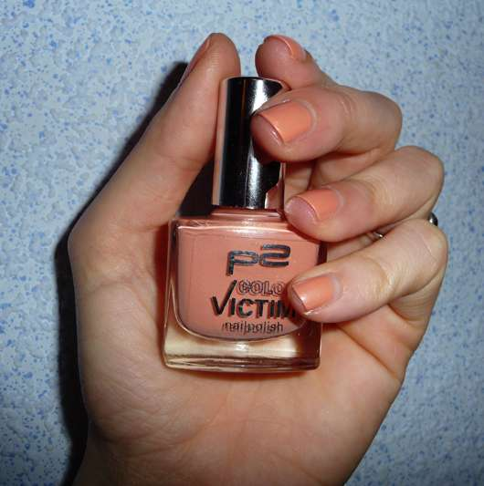 p2 Color Victim Nailpolish, Farbe 142 sweet