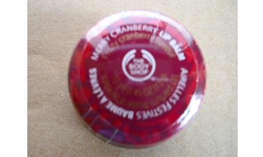 The Body Shop Merry Cranberry Lip Balm