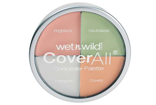 wet n wild CoverAll Concealer Palette, Quelle: MBP Markwins Beauty Products GmbH
