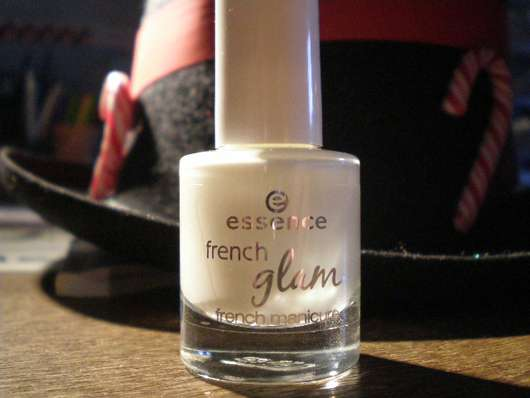 "essence french glam french manicure, Farbe: 01 ""White Glam"""