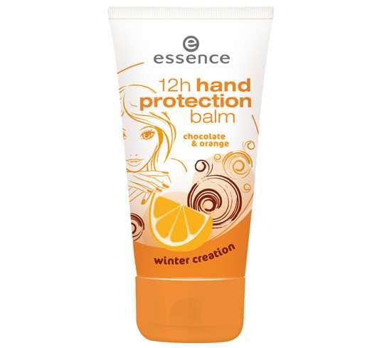 essence 12h hand protection balm - winter creation dark chocolate & orange, Quelle: cosnova GmbH