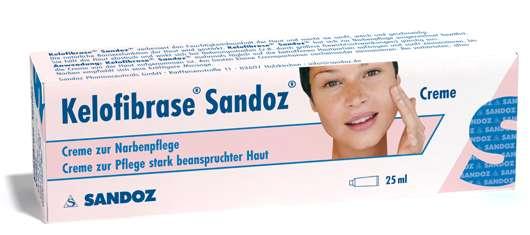 Kelofibrase® Sandoz® – Dreifachpflege gegen Narben