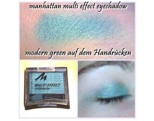 Manhattan Multi Effect Eyeshadow, Farbe: 87T Modern Green