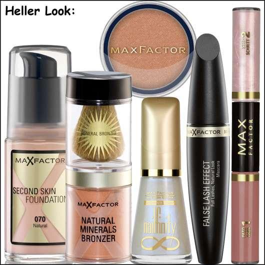 Make-up Look für ein glanzvolles Fest von Max Factor - Heller Look, Quelle: Max Factor