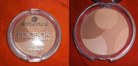 essence mosaic powder, Nuance: No. 01 sunkissed beauty