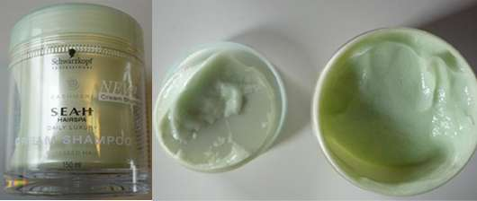 Schwarzkopf Professional SEAH HAIRSPA Cashmere Cream Bath Shampoo