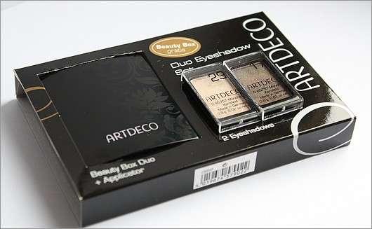 ARTDECO Beauty Box Duo Eyeshadow Set mit Mini Applikator, Farben: 29 und 17