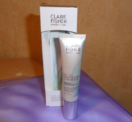 Claire Fisher Pure Silk Verwöhnende Augenpflege