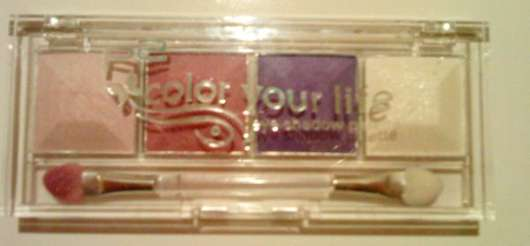 p2 Color Your Life Eyeshadow Palette, Farbe: 050 evening star (geschlossen)