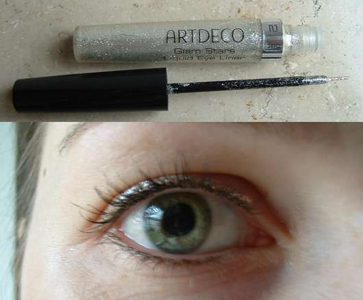Artdeco Glam Stars Liquid Eye Liner, Farbe 5637.2 (Silber)