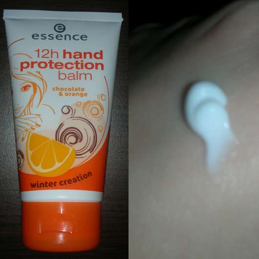 "essence ""12h hand protection balm – winter creation"" - chocolate & orange"