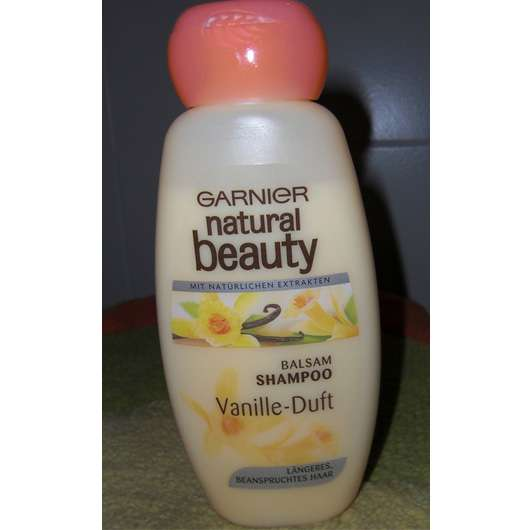 Garnier natural beauty Balsam Shampoo mit Vanille-Duft