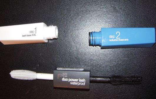 p2 duo power lash waterproof mascara