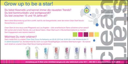 Werde einer der ersten Clean Start Scouts Deutschlands