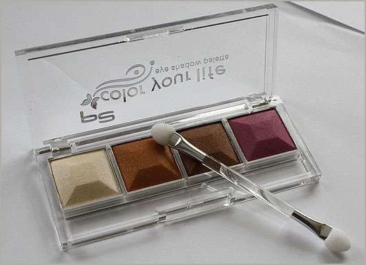 "p2  ""color your life"" Eyeshadow Palette, Farbe: 040 Golden Sunset"