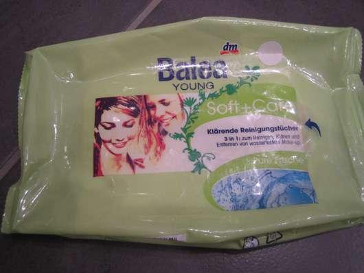 Balea Young Soft + Care klärende Reinigungstücher