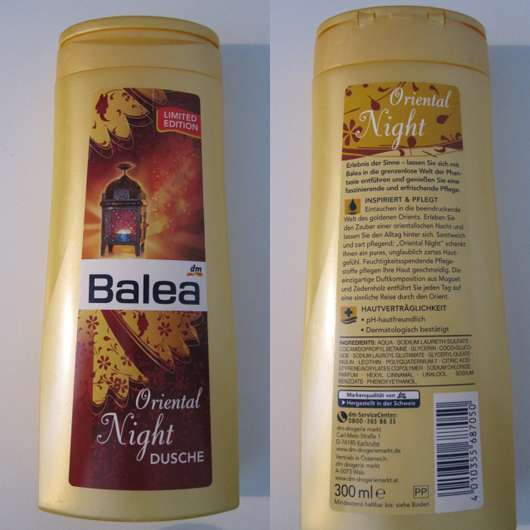 Balea Oriental Night Dusche (Limited Edition)