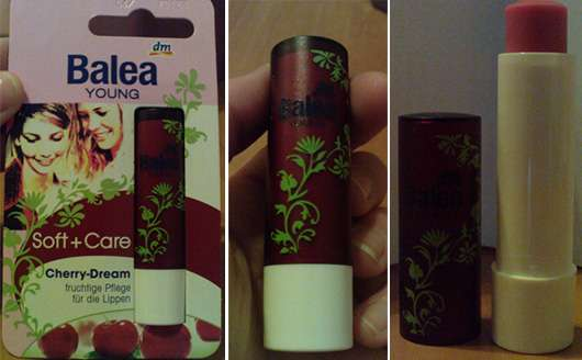 <strong>Balea Young Soft & Care</strong> Lippenpflege Cherry Dream