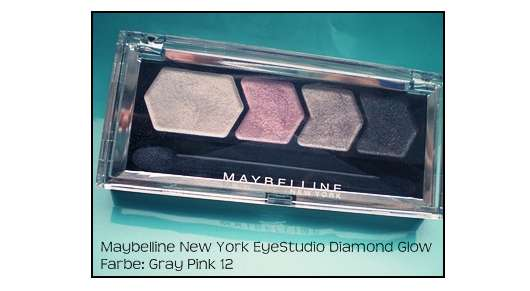 Maybelline New York Eyestudio Diamond Glow, Farbe: 12 Gray Pink Drama