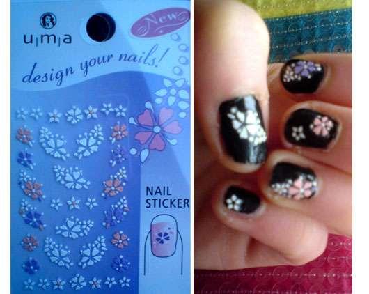 "u|m|a ""design your nails!"" Nail Sticker"