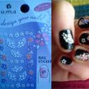 "u m a ""design your nails!"" Nail Sticker"