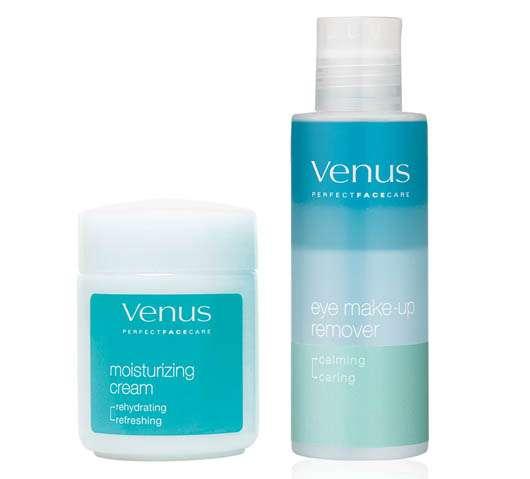 Venus Eye Make-up Remover & Moisturizing Cream