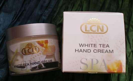LCN Spa White Tea Hand Cream