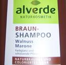 "alverde Braun Shampoo ""Walnuss Marone"""