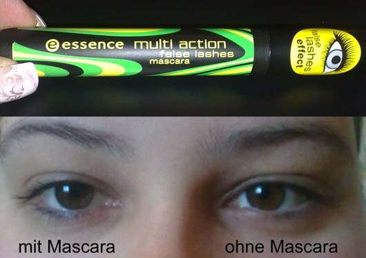 essence multi action false lashes mascara