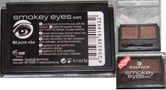 essence Smokey Eyes Set, Farbe: 02 Punk Vibe