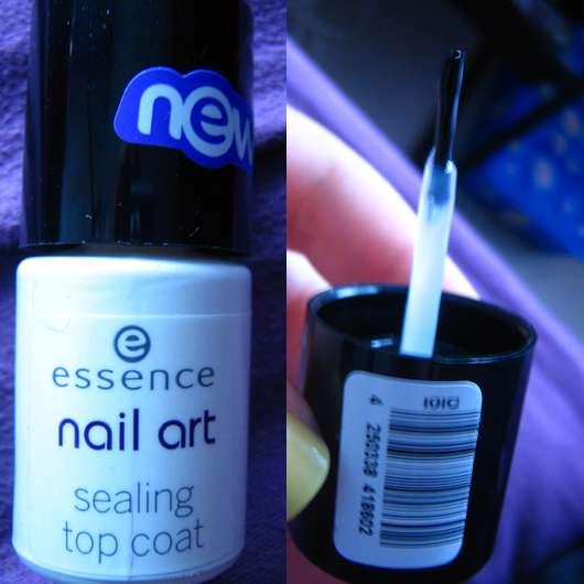 essence nail art sealing top coat