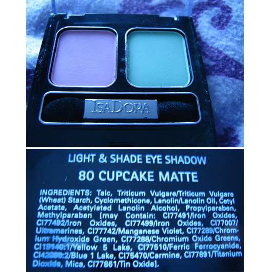 IsaDora Light & Shade Eye Shadow, Farbe: 80 Cupcake Matte