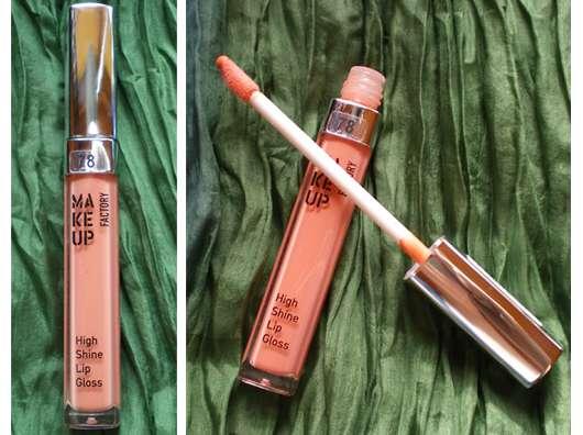 Make Up Factory High Shine Lip Gloss, Farb-Nr.: 78