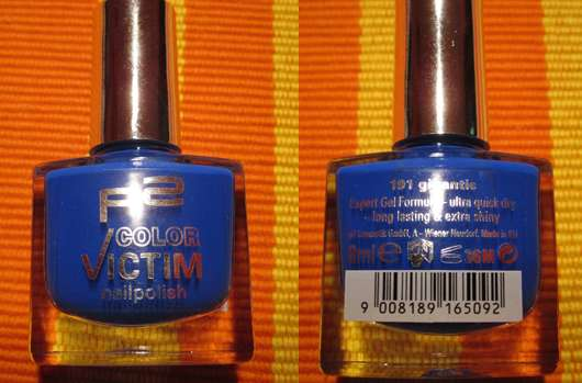 p2 color victim nailpolish, Farbe: 191 gigantic