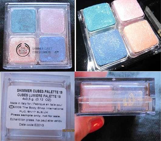 The Body Shop Shimmer Cubes Palette, Nr. 19