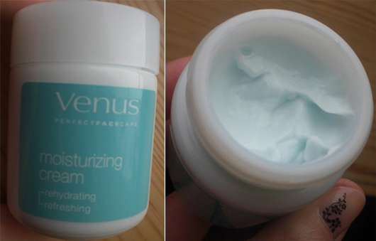 Venus Perfect Face Care moisturizing cream