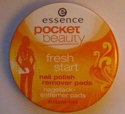 Produktbild zu essence pocket beauty fresh start nail polish remover pads
