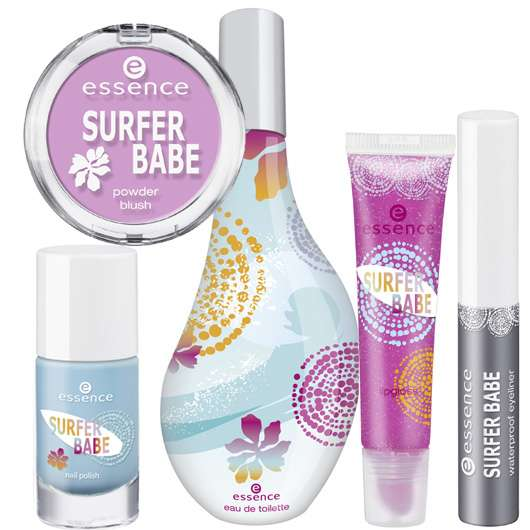 "essence trend edition ""surfer babe"""