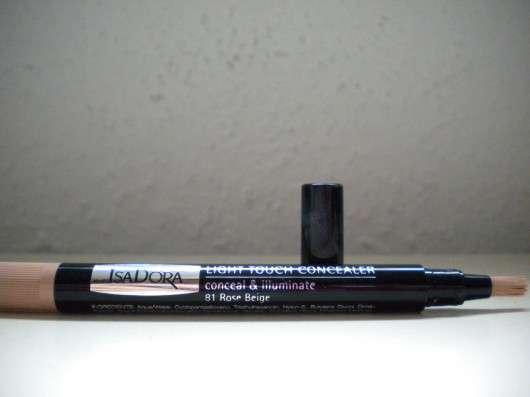 IsaDora Light Touch Concealer, Farbe: 081 Rose Beige