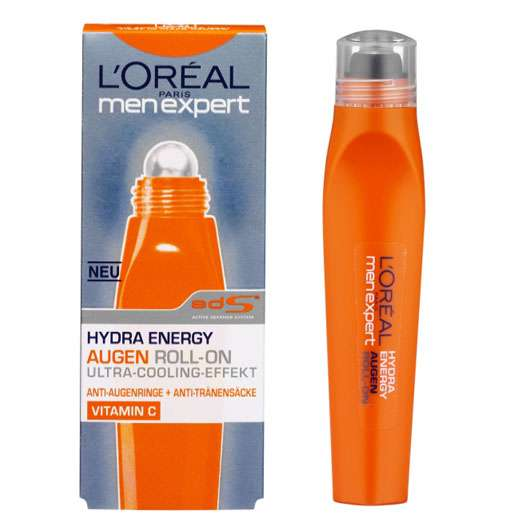 L'ORÉAL PARiS Men Expert Hydra Energy TURBO BOOSTER AUGEN ROLL'ON