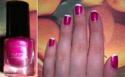 Produktbild zu Max Factor Max Effect Mini Nail Polish – Farbe: 12 Diva Pink