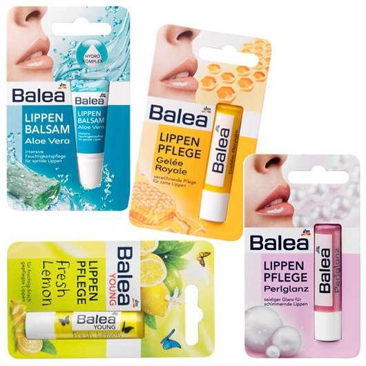 Wohltuende Pflege für die Lippen von Balea