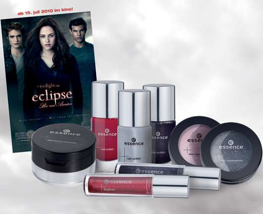 Gewinne 5 x 1 Set der essence Make-up-Collection zur Twilight Saga: ECLIPSE – Bis(s) zum Abendrot