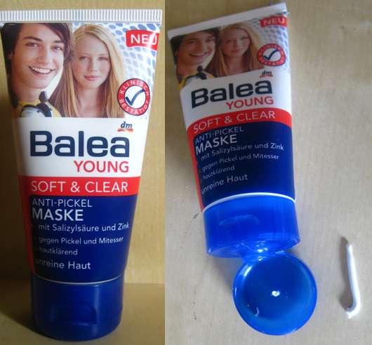 Balea Young Soft & Clear Anti-Pickel Maske