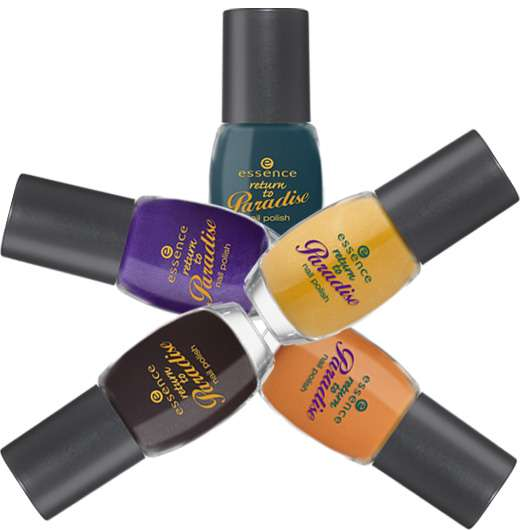 "essence trend edition ""return to paradise"""