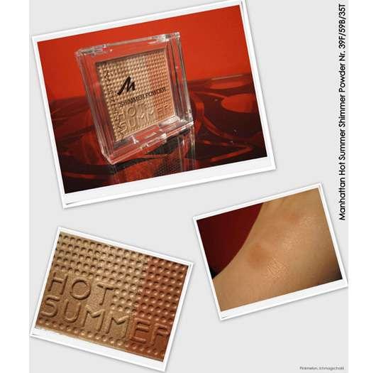 Manhattan Hot Summer Shimmer Powder, Farbnr. 39F/59B/35T