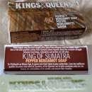 "Kings & Queens ""King of Sumatra"" Pepper Bergamot Soap"