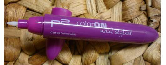 p2 ColorOn Nail Stylist, Farbe: 010 extreme lilac